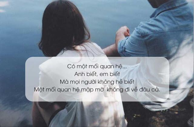 Đáng ghét nhất và đau lòng nhất chính là một mối quan hệ mập mờ!